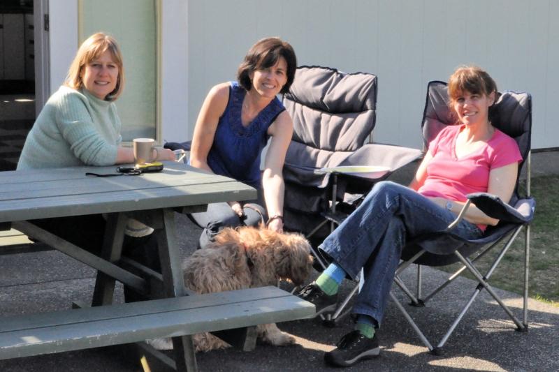 Robyn, Judy, Honey & Sharron